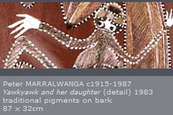 Bark Paintings of western Arnhem Land